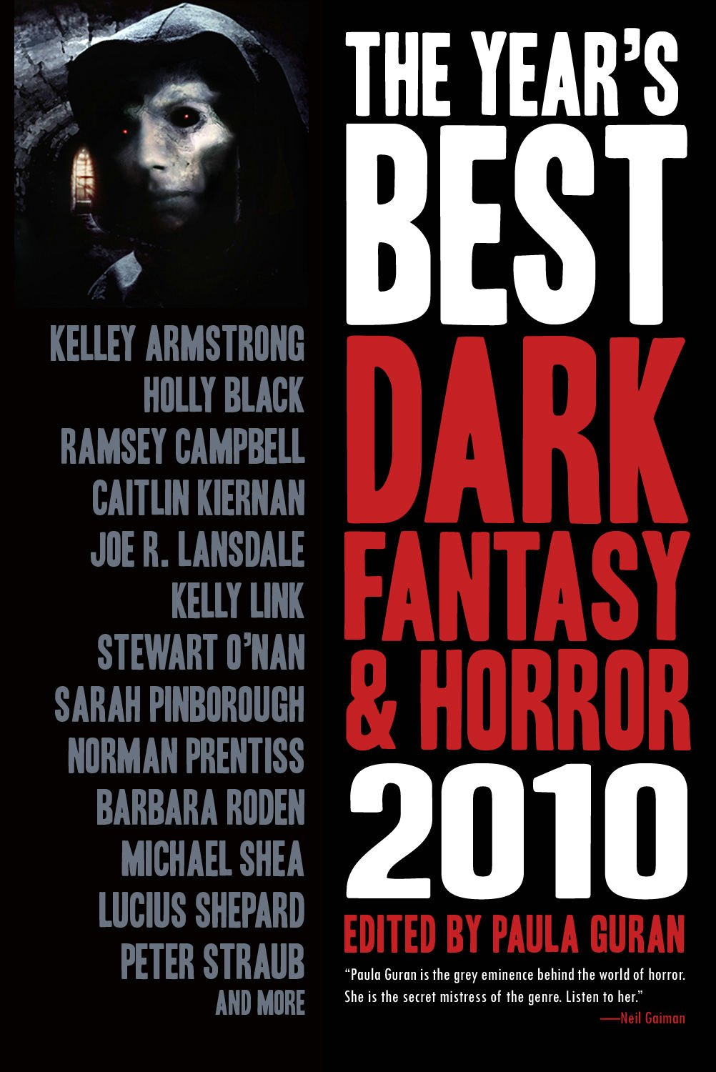 The Warrior Muse: Horror List Book Review: The Year's Best