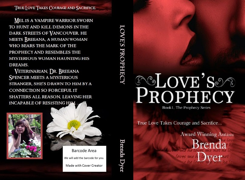 Love's Prophecy available in paper back