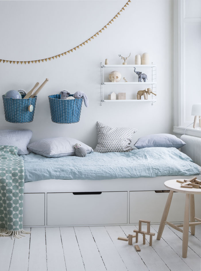 Monday inspiration - Baby Blue for children's rooms