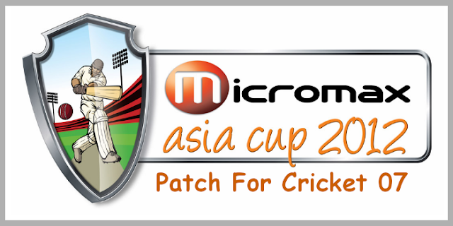 Micromax Asia Cup 2012 Patch
