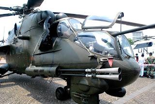 Helikopter Mi-35P Milik TNI