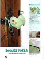 PAP como fazer um segura porta de feltro