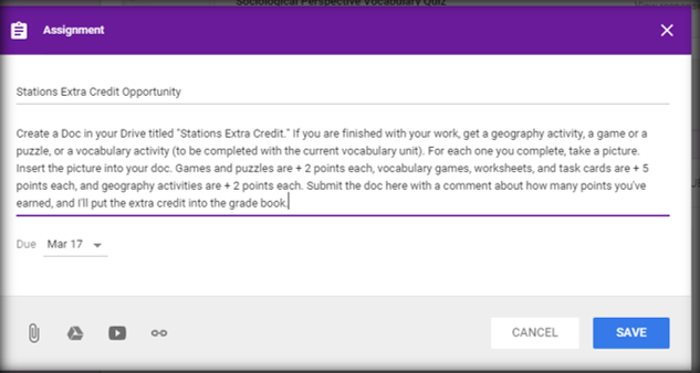 Curious about making stations work in a blended classroom? What about turning in work? This post explores how you can have your students submit pen-and-paper work digitally, as well as how you can make stations work in a digital classroom.