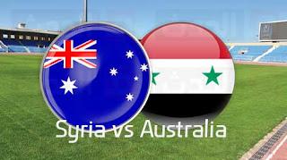 مشاهدة مباراة سوريا واستراليا بث مباشر بتاريخ 15-01-2019 كأس آسيا 2019