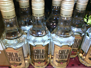 Gold Strike - alcoholic beverages containing gold