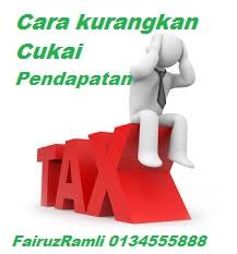 cara kurangkan cukai pendapatan malaysia
