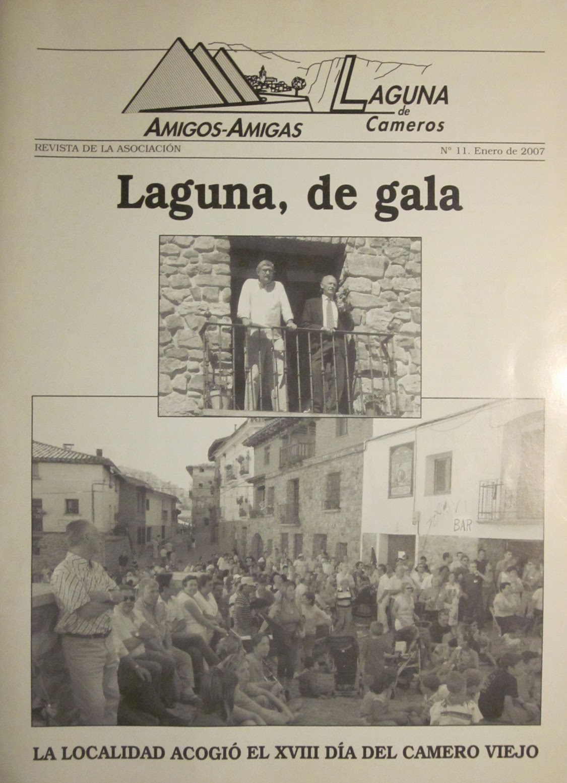 """Boletín Informativo de la """"Asociación de Amigos y Amigas de Laguna de Cameros""""."""