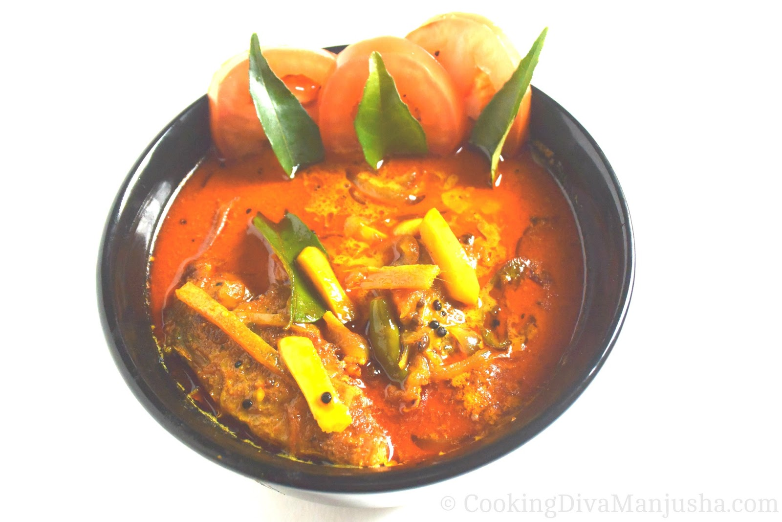 Kerala Style Fish Mappas Curry Fish Mappas Nadan Style