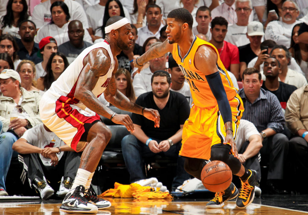 a5e104c2c506 NWK to MIA  A Little Late But Still Great LeBron James Wins Game 1 ...