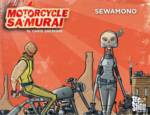 Motorcycle Samurai by Chris Sheridan