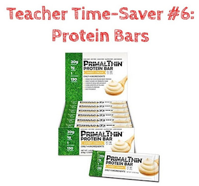 Top Teacher Time-Savers at Home: Protein Bars