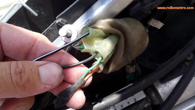 conexión de cables