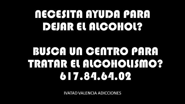 DEJAR EL ALCOHOL VALENCIA ADICCIONES PSICOLOGIA ALCOHOLISMO