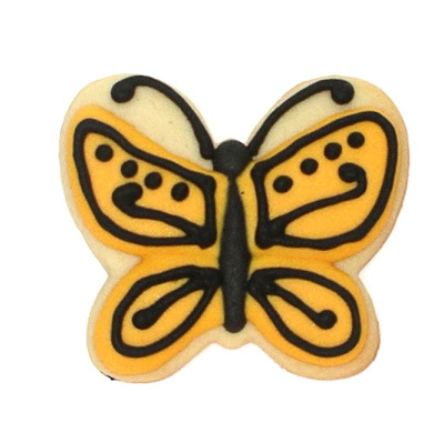 Butterfly Cookie by The Ginger Cookie