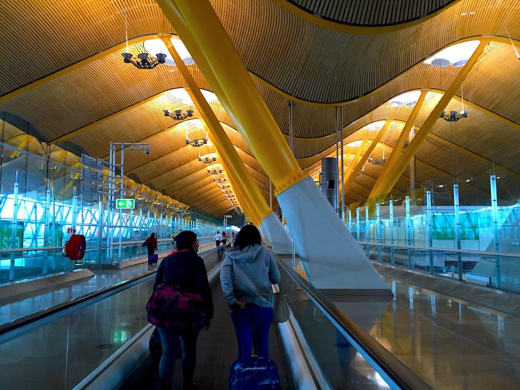 Terminal 4S Madrid Barajas Airport