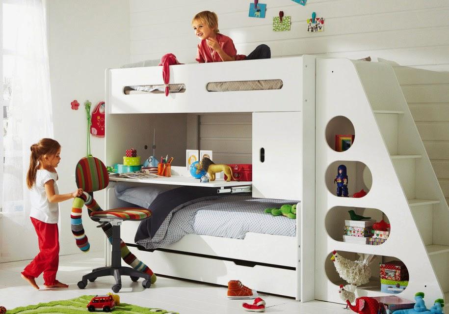 غرف نوم اطفال ولد وبنت | طبق اليوم بالصور