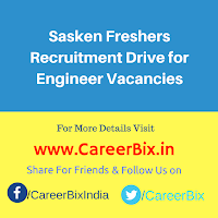 Sasken Freshers Recruitment Drive for Engineer Vacancies