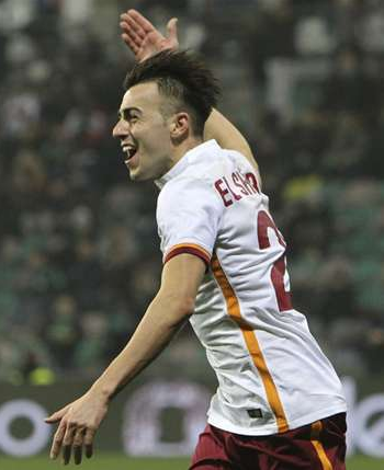 Romas second win secured by El Shaarawy