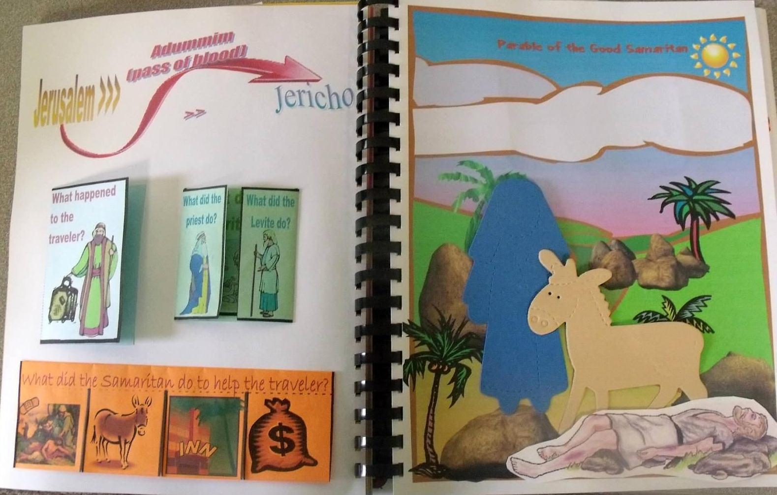 Bible Fun For Kids The Good Samaritan