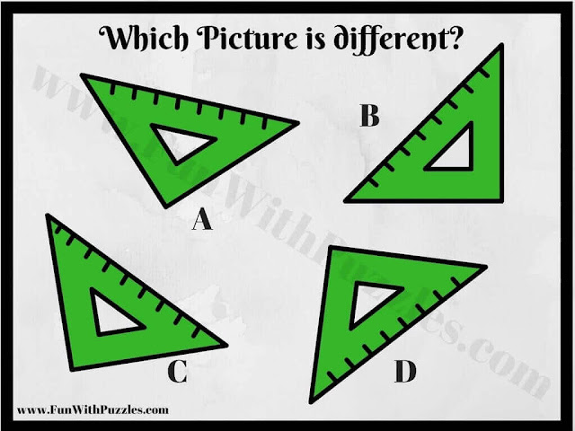 Odd One Out Picture Puzzle Image