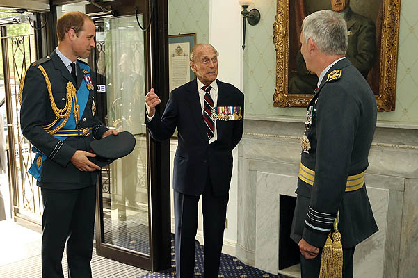 2015/10/07Prince William, Prince Philip and Sir Andrew Pulford