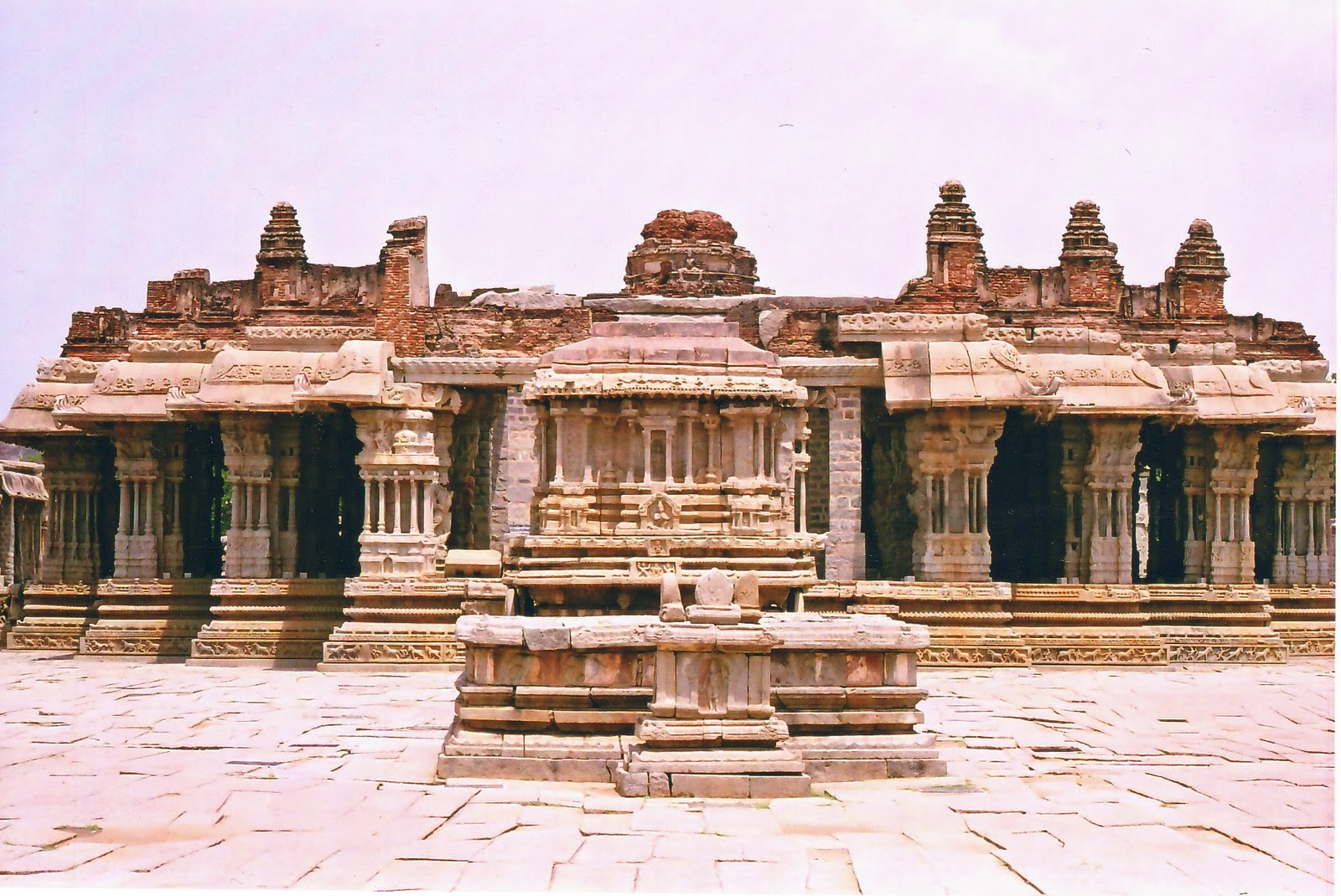 Hazara Rama Temple, Hampi: A story Carved in Stone