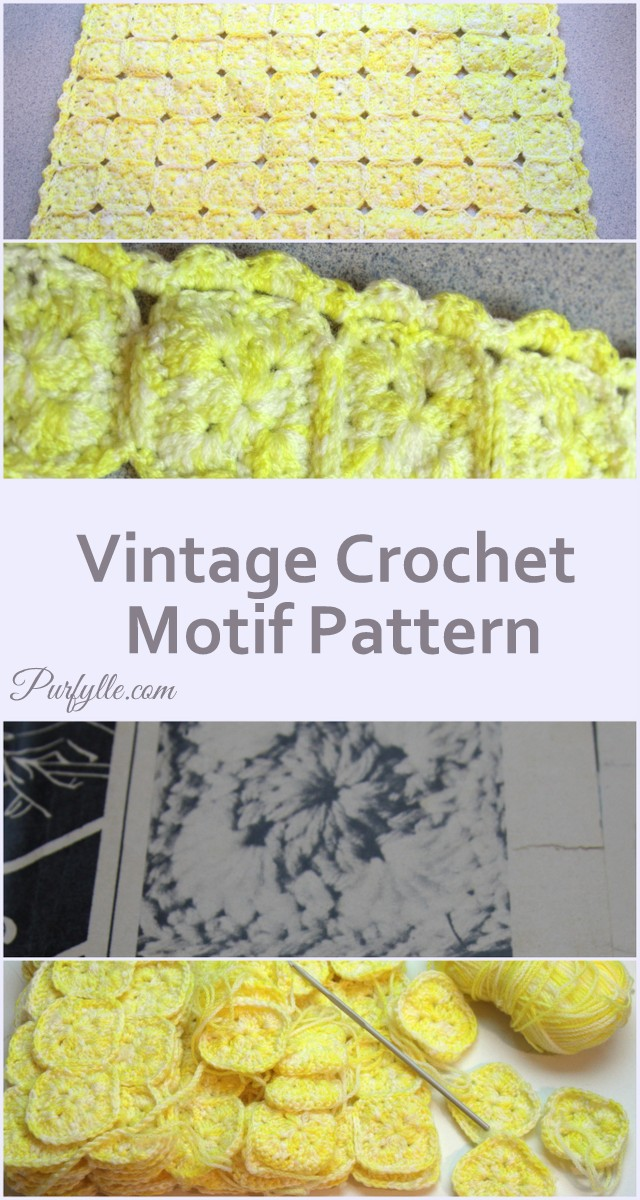 Vintage Crochet Motif
