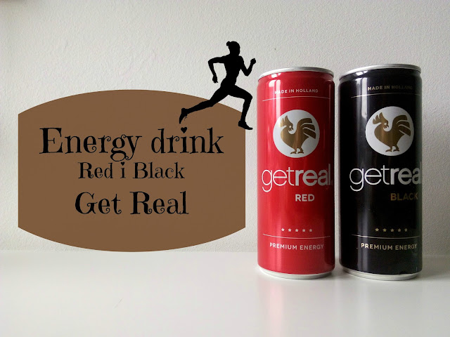 RECENZJA: Energy drinki Get real - red i black