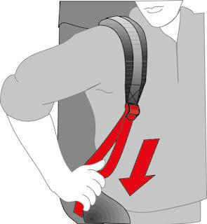 Регулировка рюкзака