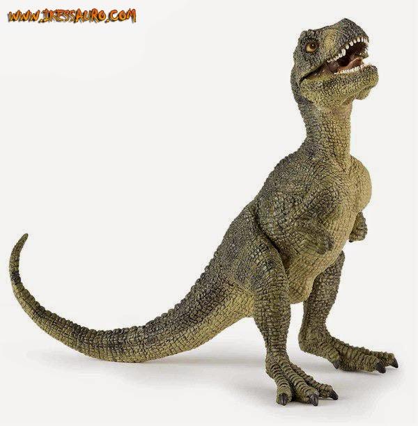 Green Baby Tyrannosaurus Papo