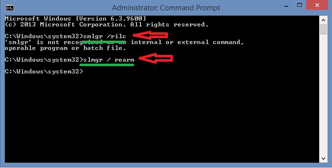 حل مشكلة Cette Copie De Windows 1