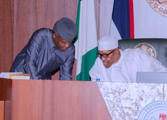 Osinbajo reveals persons Buhari will jail