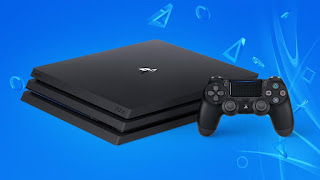 Tampilan Console PS4 yang Resmi