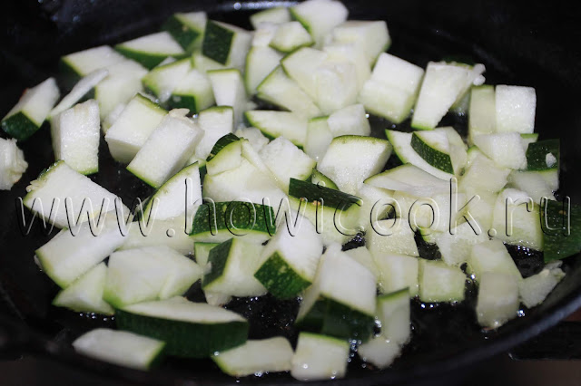 рецепт яичницы с кабачками и помидорами с пошаговыми фото