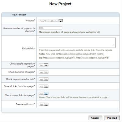 Instalasi SEO Panel 9 | Adlinux Blog