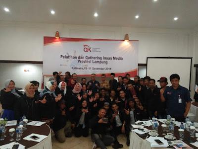 Waspada Hoax dan Mengenal Lebih Dekat Produk Investasi, OJK Lampung Gelar Pelatihan dan Gathering