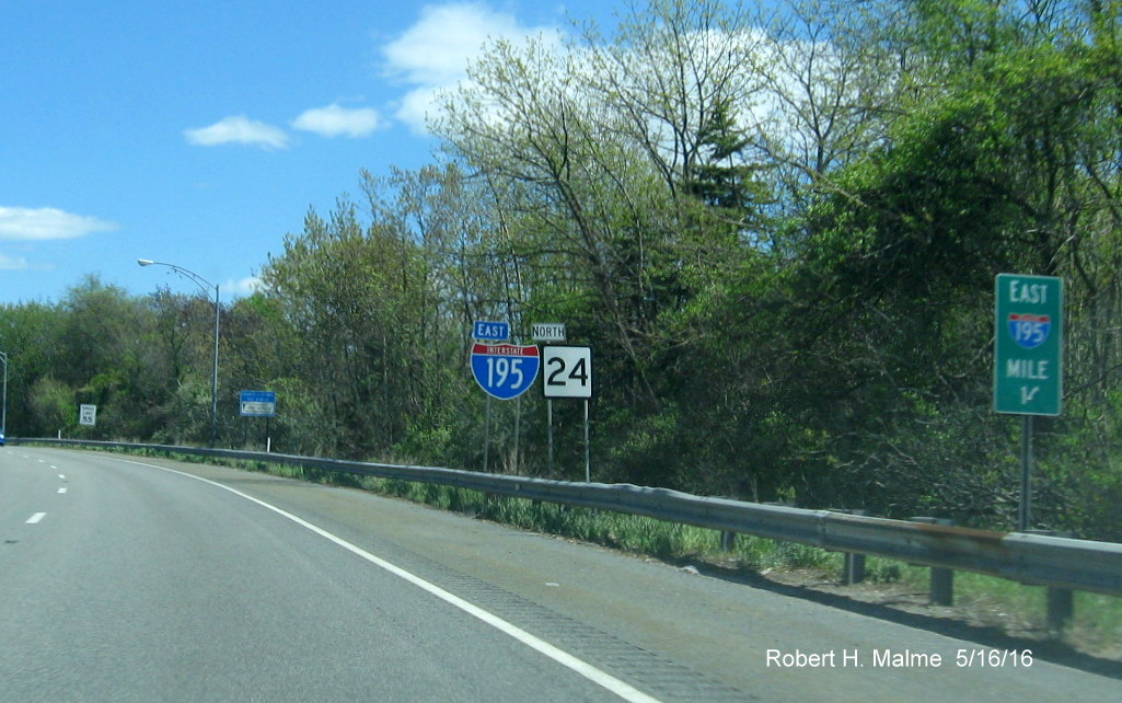 Kentucky Freeway Map%0A The only new sign for the MA    North exit is at the ramp itself