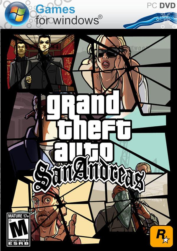 GTA San Andreas Original Game Download Cover