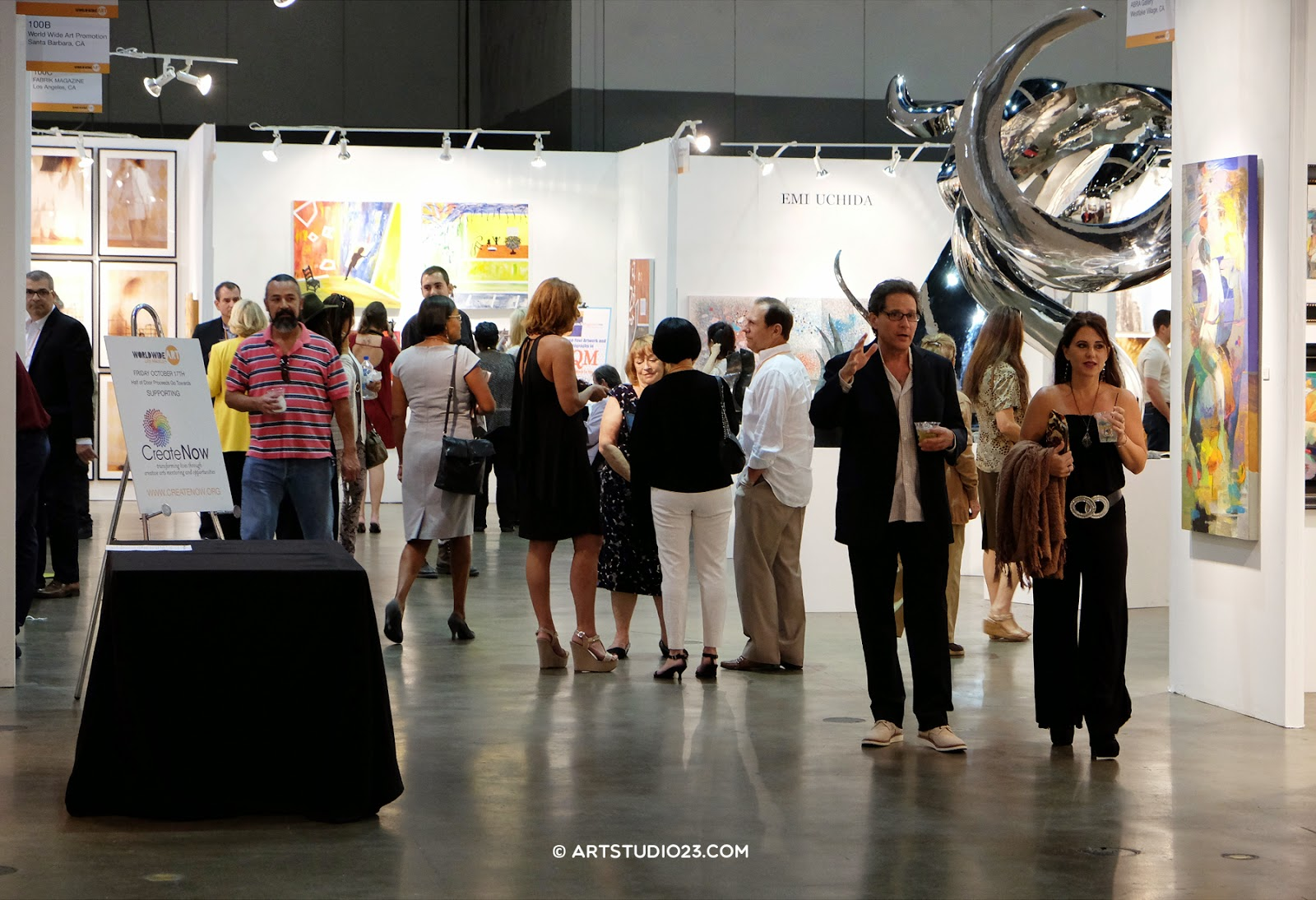 Art show in Los Angeles, Convention Center Down Town LA