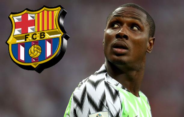 Barcelona tana shirin daukan dan kwalon gaban Nigeria Ighalo