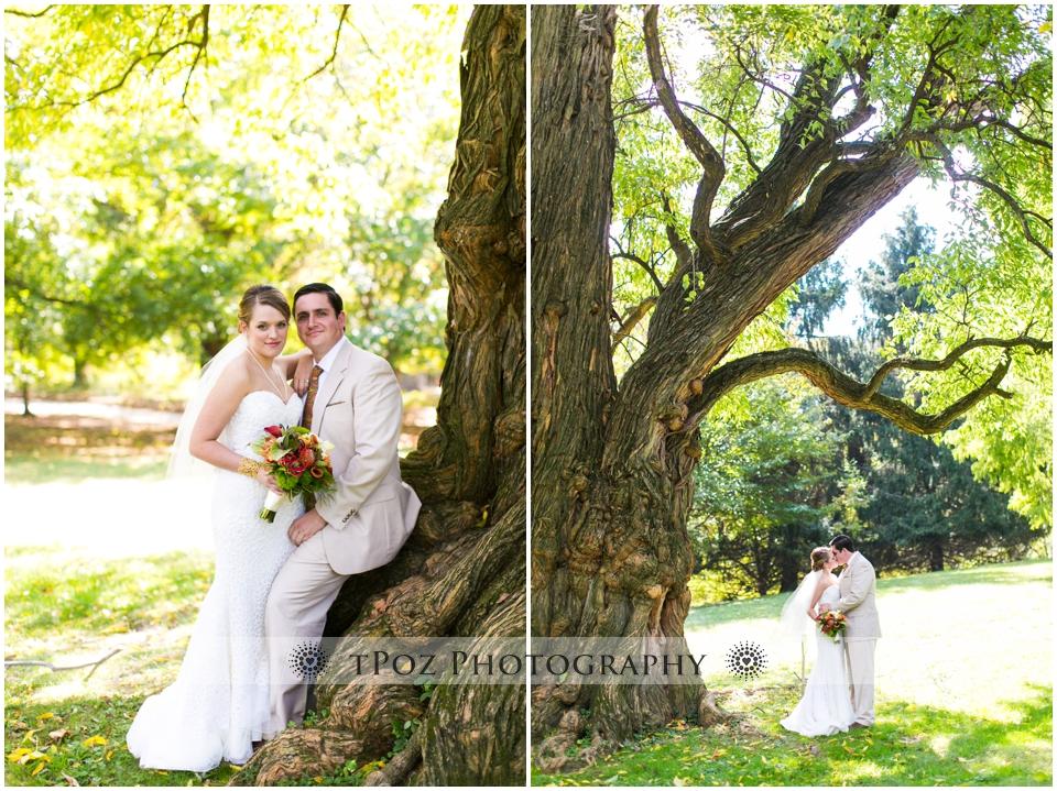 Maryland Zoo Wedding Baltimore bride groom