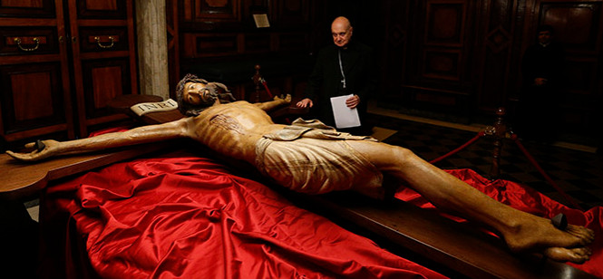 Carmes du Midi Crucifix 14e