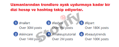instagram güzellik ile ilgili hashtaglar