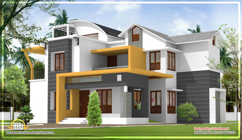 Modern Contemporary Kerala Home Design 2270 Sq Ft