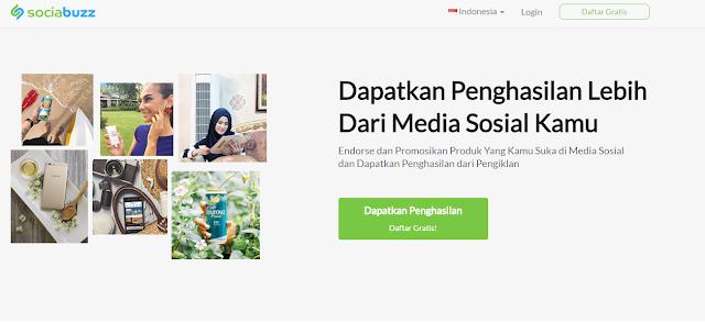 SociaBuzz, Solusi Tepat dan Cepat Hasilkan Uang dari Sosial Media