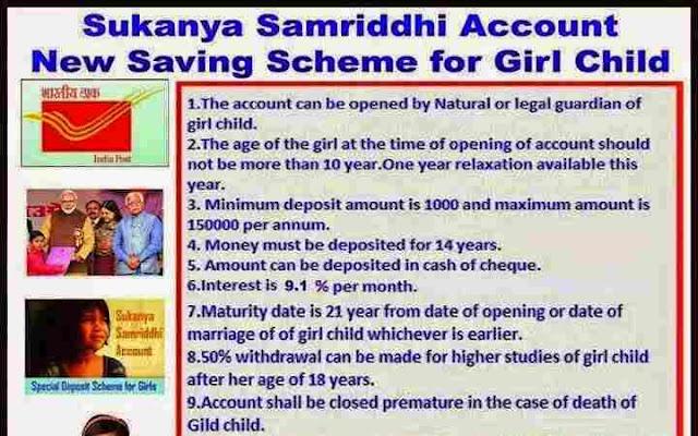 Sukanya Samriddhi Scheme: