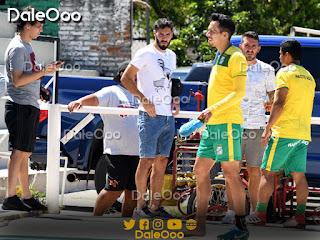 Pablo Zeballos, Marcel Román y  Patricio Vidal jugadores extranjeros que no son tomados en cuenta por Mauricio Soria - DaleOoo - Oriente Petrolero