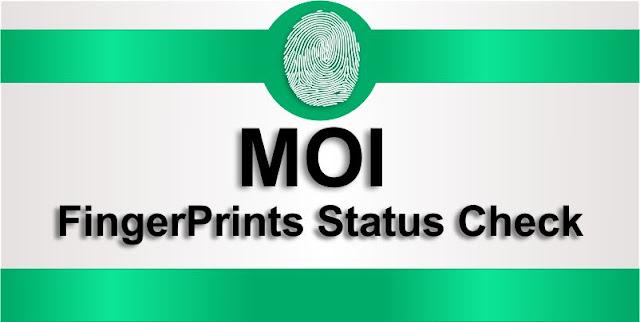 Check Fingerprint status