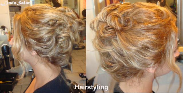 brudepige håropsætning