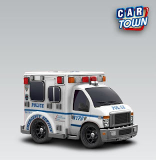 Car Town Ambulance 2012 NYPD Emergency Service